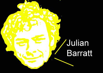 Image of Julian Barratt that is cool looking