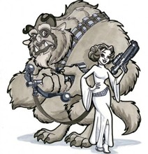 Star Wars Disney Characters