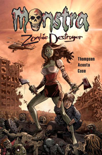 Monstra Zombie Destroyer Cover