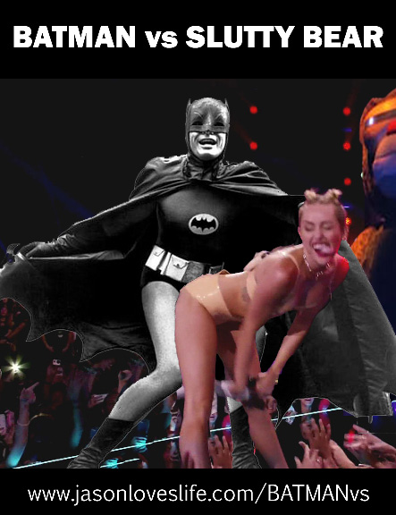 Batman vs Miley Cyrus Battle