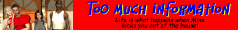 Too Much Information Webcomic Banner
