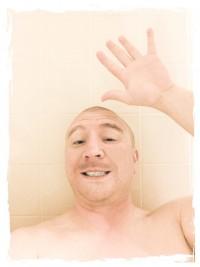 Jason in bathtub