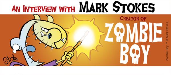 Mark Stokes Zombie Boy