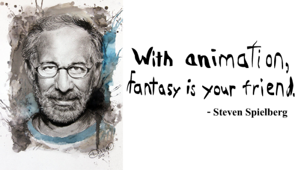 Steven Spielberg portrait